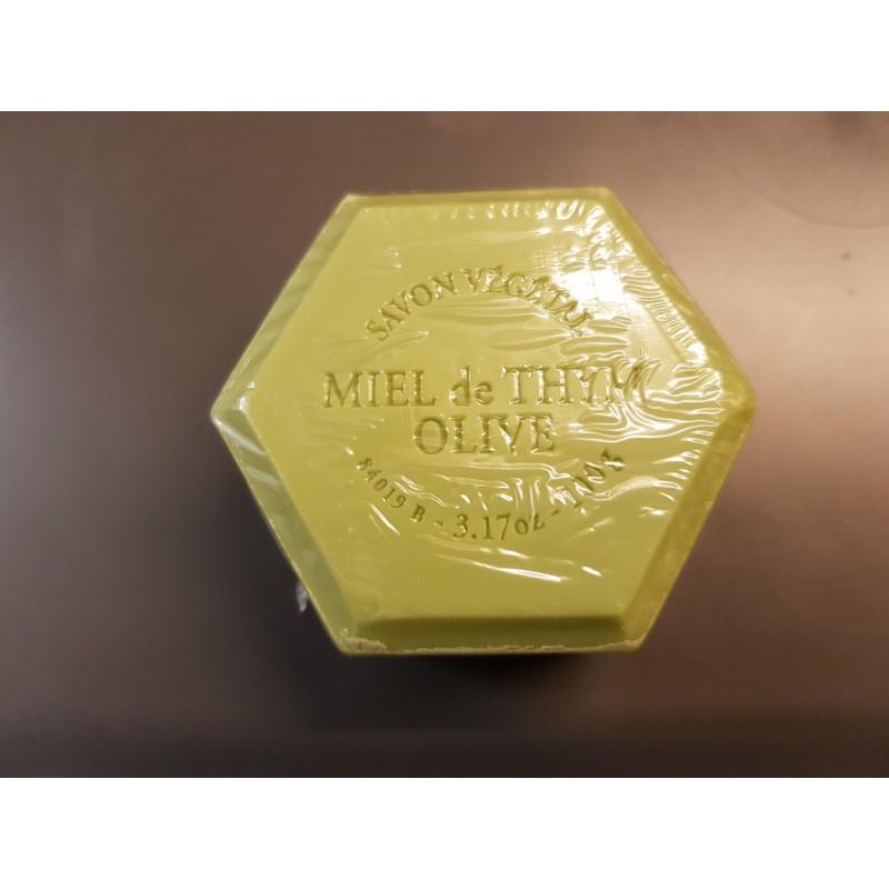 Savon à l'huile d'olive et au miel de thym