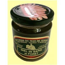 Pot verre de 250 Gr de miel récolté en France et ailleurs